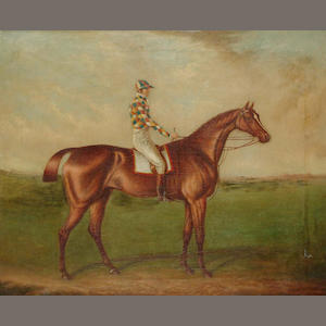 After John Frederick Herring Snr. Barefoot, winner of the 1823 St. Leger 57.1 x 69cm