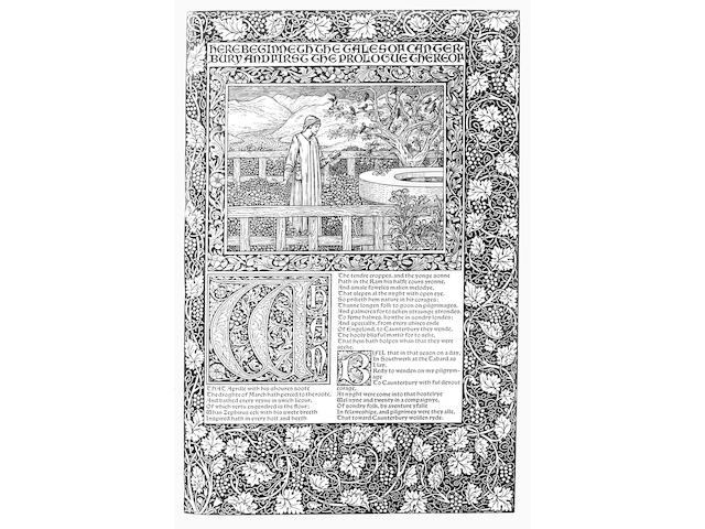 KELMSCOTT PRESS CHAUCER (GEOFFREY) The Works
