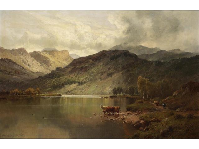 Alfred de Breanski, Snr. (British 1852-1928) Perthshire valleys