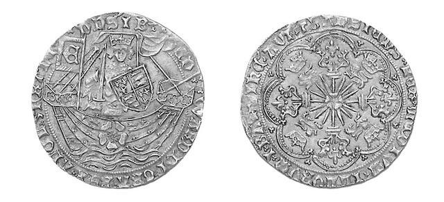 Edward IV (1461-1470), Rose Noble, mm.crown (S.1900).