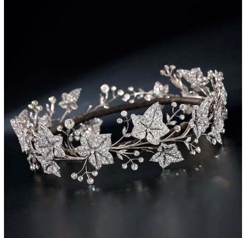 A fine 19th century diamond tiara by Garrard & Co.