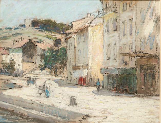 Terrick Williams (1860-1936), St Tropez, pastels
