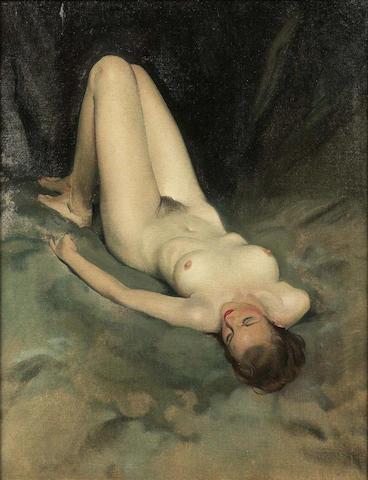 Sir James Gunn (1893-1964) Reclining nude