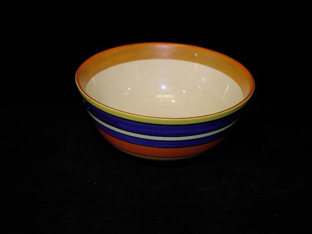 Clarice Cliff, A circular bowl,