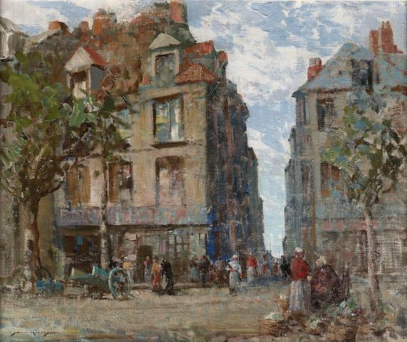 William Lee-Hankey (1869-1952) A view at Dieppe