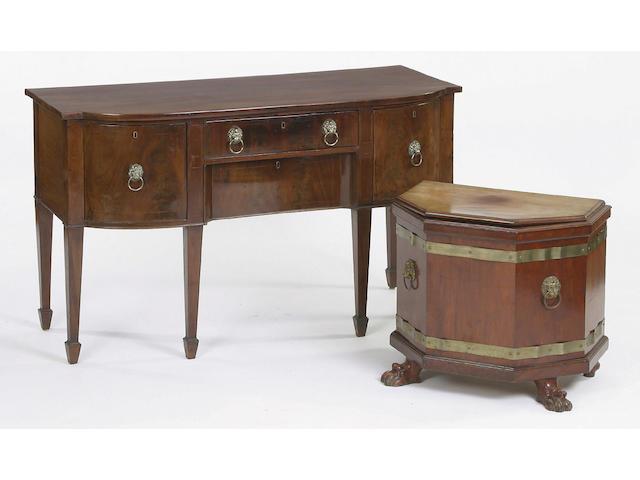 A 19th Century mahogany sideboard,
