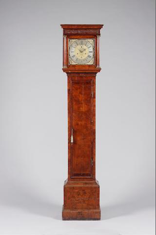 A good late 17th century walnut longcase clock Jonathan Puller, London