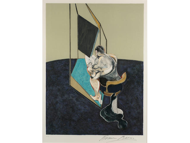 Francis Bacon Three Studies of the Male Back