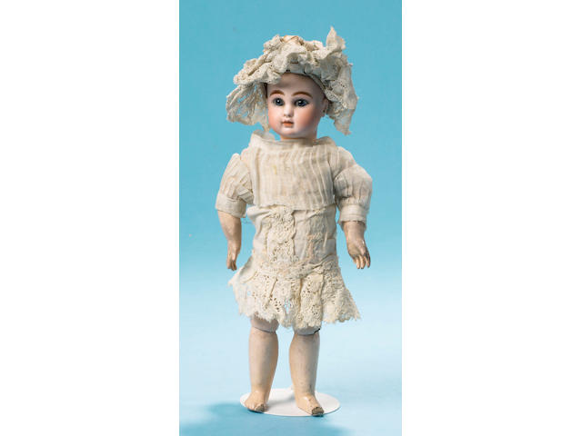 A rare Steiner A bisque head bebe, French circa 1880