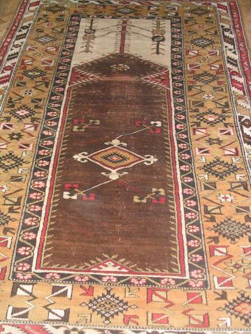 A Melas prayer rug West Anatolia, 226cm x 136cm