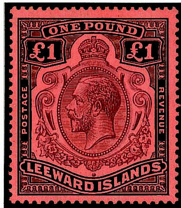 Leeward Islands: A Q.V. to Q.E.II mainly mint collection, varied condition on leaves inc. 1890 CA ½d. to 5/-, 1897 Jubilee 2d. to 1/-, 1902 CA ½d. to 5/-, 1905-08 MCA ½d. to 1/-, 1907-11 MCA ¼d. to 5/-, 1912-22 MCA ¼d. (2) to 5/- (4), 1921-32 Script ¼d. to 1/-, 1938-51 ½d. (2) to £1 (4), etc. (312)