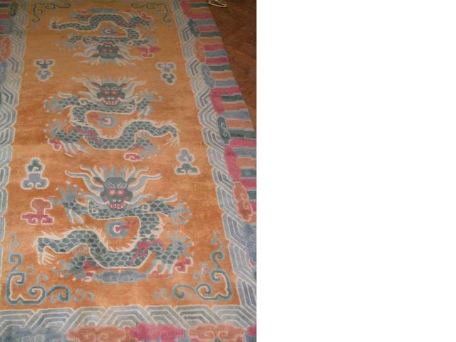 A Tibetan rug 178cm x 96cm