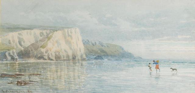 Samuel Phillips Jackson (1830-1904) Low tide