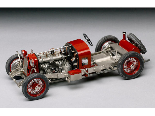 Chassis Model 1/15th scale 1932 Alfa Romeo 2.3