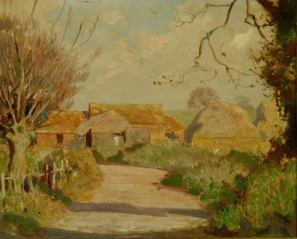 Fred Hall - Winterbourne lane.