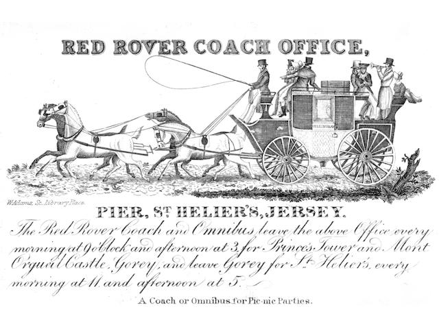 COACHING EPHEMERA Album containing upwards of 330 prints, engravings, cards and bills, relating to e
