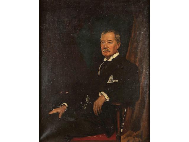 Sir William Orpen R.A., R.H.A. (1878-1931) Portrait of 127.5 x 102.5 cm. (50 1/4 x 40 3/8 in.)