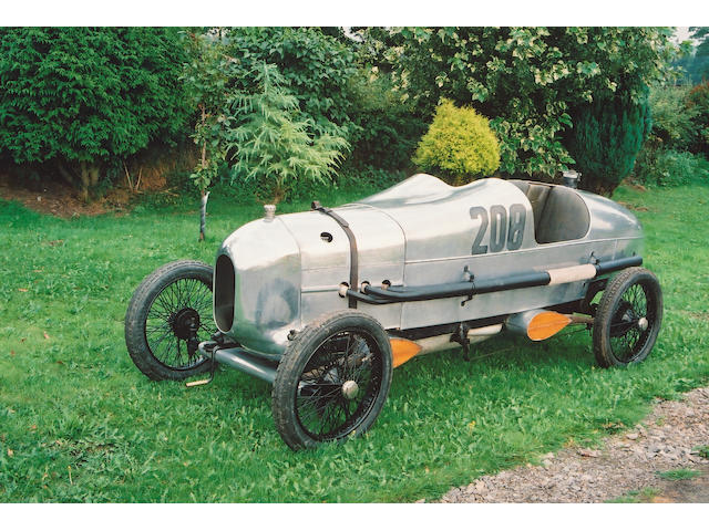 Replica of George Newman's 200 Mile Race Car,1923 Wolseley Ten SOHC Offset Two Seater  Chassis no. to be advised
