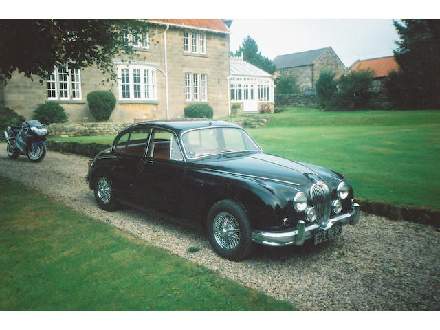 1965 Jaguar Mk2 3.4-litre Saloon  Chassis no. P168824BW Engine no. KJ7047-8