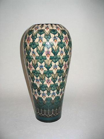 'White Violet' A Vase
