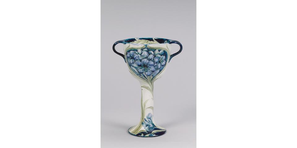 'Fresia' A Large Macintyre Twin-Handled Cup