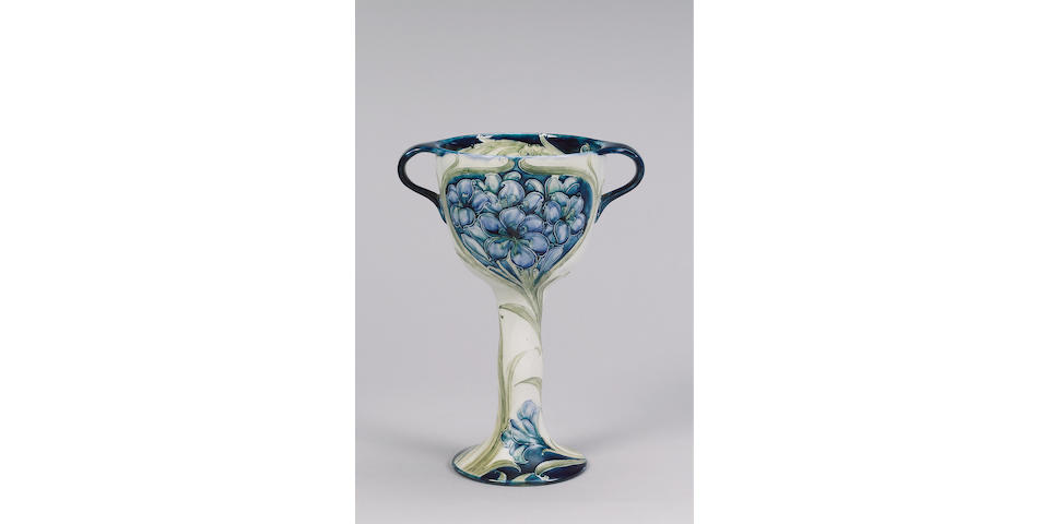 'Fresia' A Large Macintyre Twin-Handled Cup