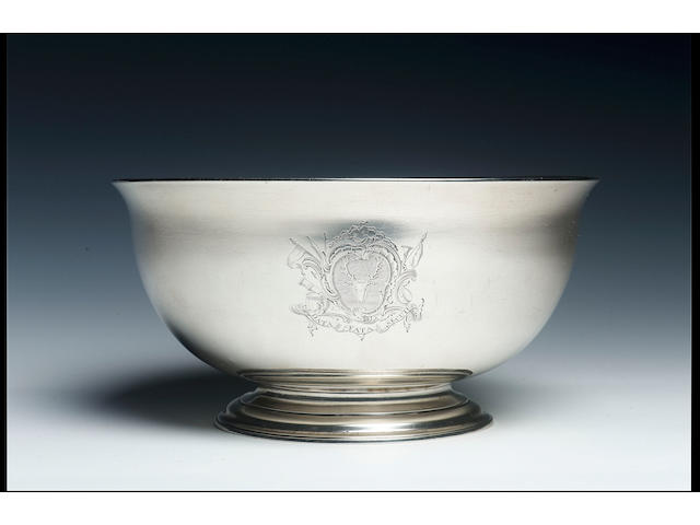 A good George II bowl by John Swift, 1732,