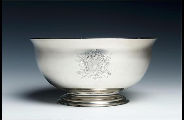 A good George II bowl by John Swift, 1732,
