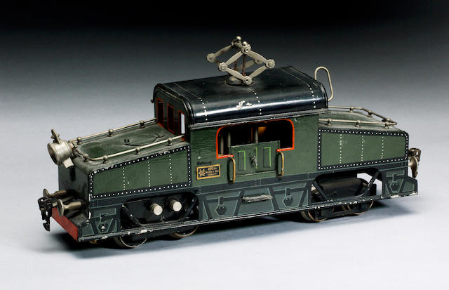 Marklin gauge 1 electric PO steeple-cab locomotive, circa 1912  Catalogue ref CL 3020