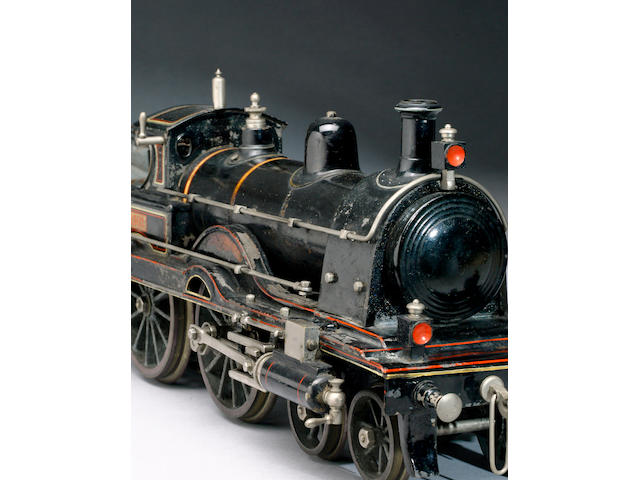 A Scarce Schoenner Gauge 3 'Black Prince' locomotive and tender