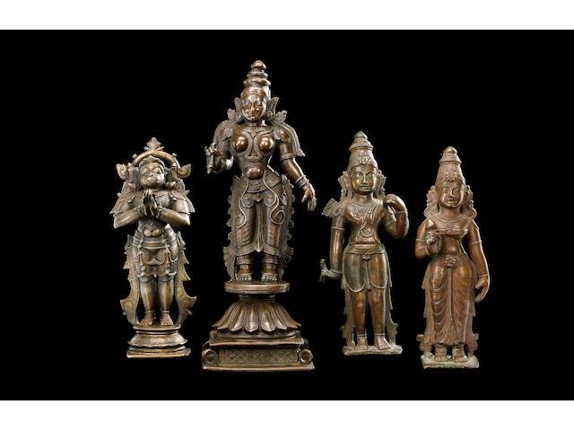 A bronze Figure of Vach Vijayanagar, Deccan, early 18th Century