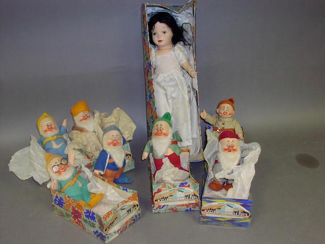 Chad Valley Snow White & Seven Dwarfs, English circa 1937