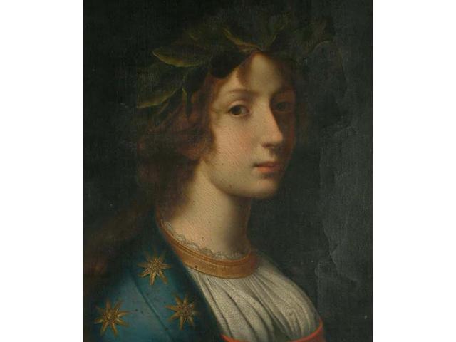 After Cristofano Allori Fame 59 x 44cm