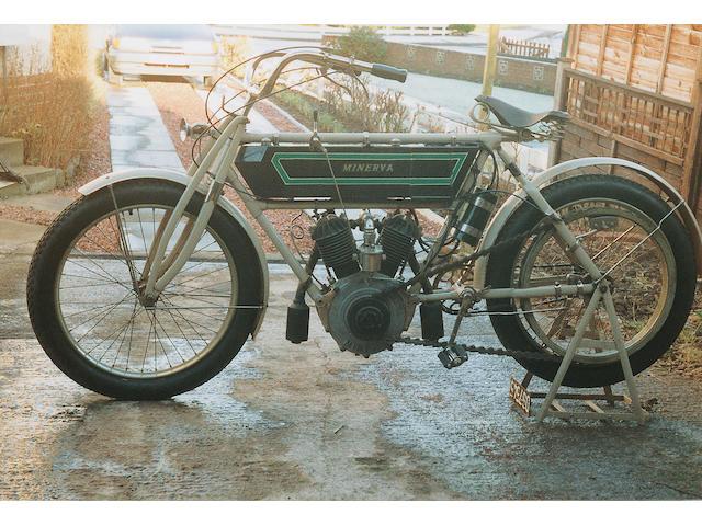 1907 Minerva 4 1/2hp 600cc V-Twin