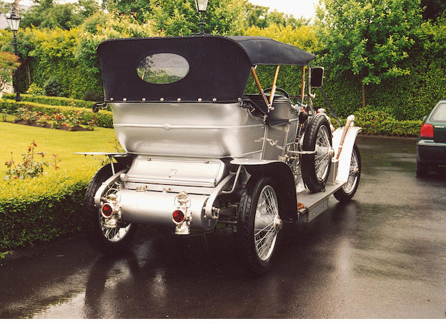 1909 Rolls-Royce 40/50hp Silver Ghost 'Roi-de-Belges' Tourer Coachwork in the style of Barker 1203