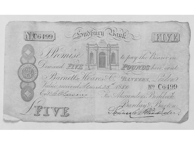 Sudbury Bank,