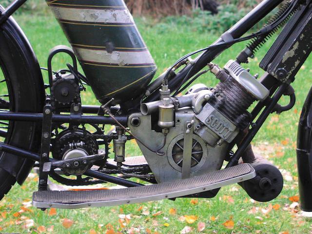 1910 Scott 486cc  Frame no. 211203 Engine no. 703