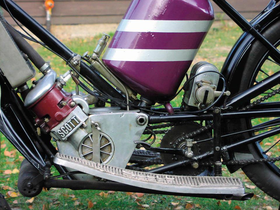 1911 Scott 486cc  Frame no. 238191 Engine no. 945