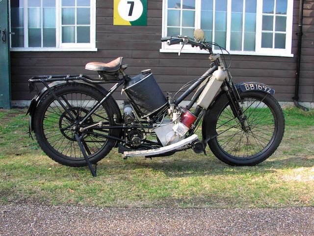 1914 Scott 532cc  Frame no. 432 Engine no. 2484