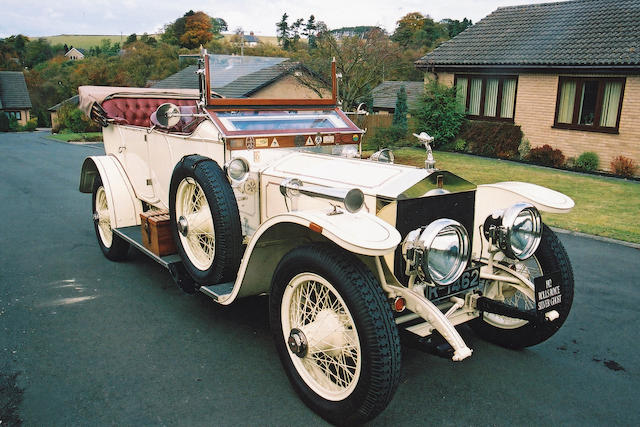 1912 Rolls-Royce 40/50hp Silver Ghost Torpedo Phaeton Coachwork in the style of Barker 2018