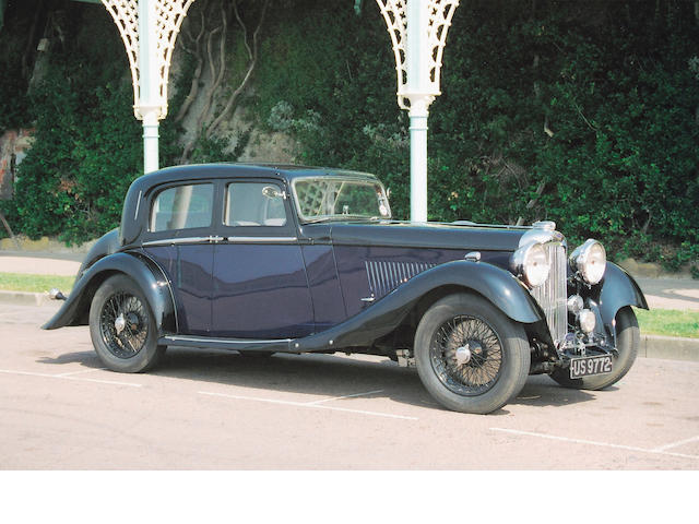The Olympia Motor Exhibition Display Car,1934 Lagonda M45 Rapide Close–Coupled Pillarless Saloon Coachwork by J.Gurney Nutting Ltd. Z11131R