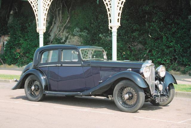 The Olympia Motor Exhibition Display Car,1934 Lagonda M45 Rapide Close–Coupled Pillarless Saloon Coachwork by J.Gurney Nutting Ltd. Z11131R