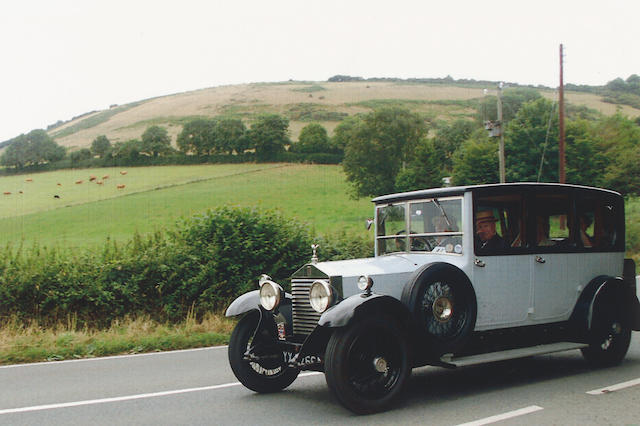 1928 Rolls-Royce 20hp Limousine Coachwork by Windover GBM66
