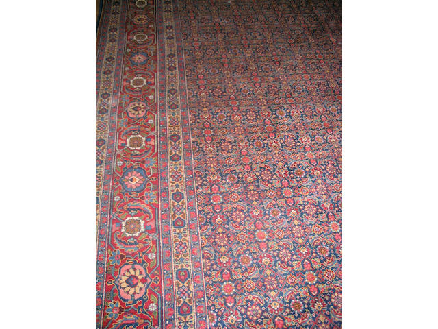 A Tabriz carpet North West Persia, 466cm x 345cm