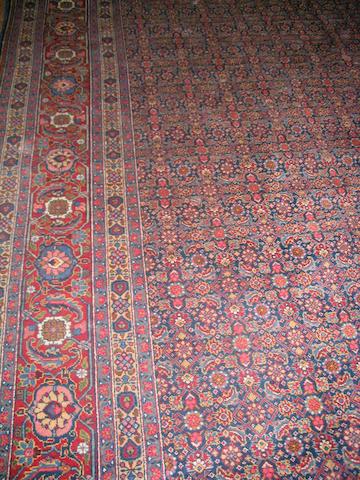 A Tabriz carpet North West Persia, 466cm x 345cm