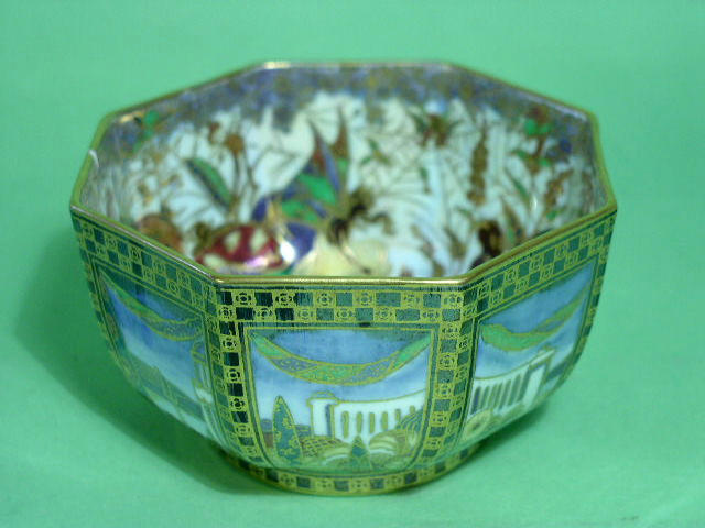A Wedgwood Fairyland Lustre bowl