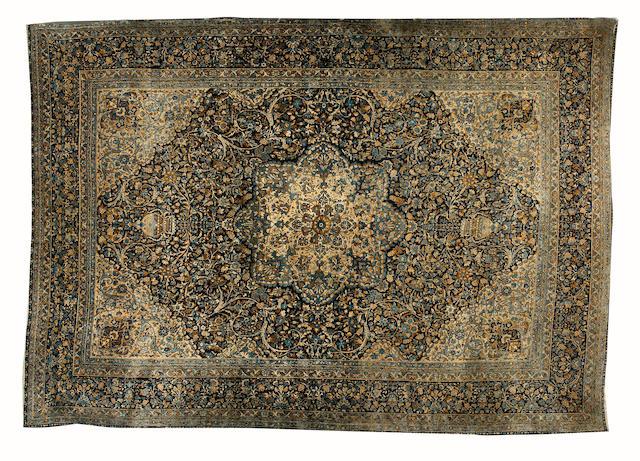 A Kirman carpet South East Persia, 437cm x 307cm