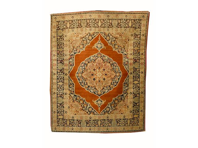 A Tabriz rug North West Persia, 160cm x 128cm