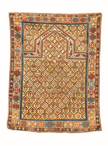 A Shirvan prayer rug East Caucasus, 150cm x 119cm