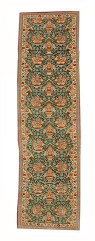 A Kashan runner Central Persia, 293cm x 87cm